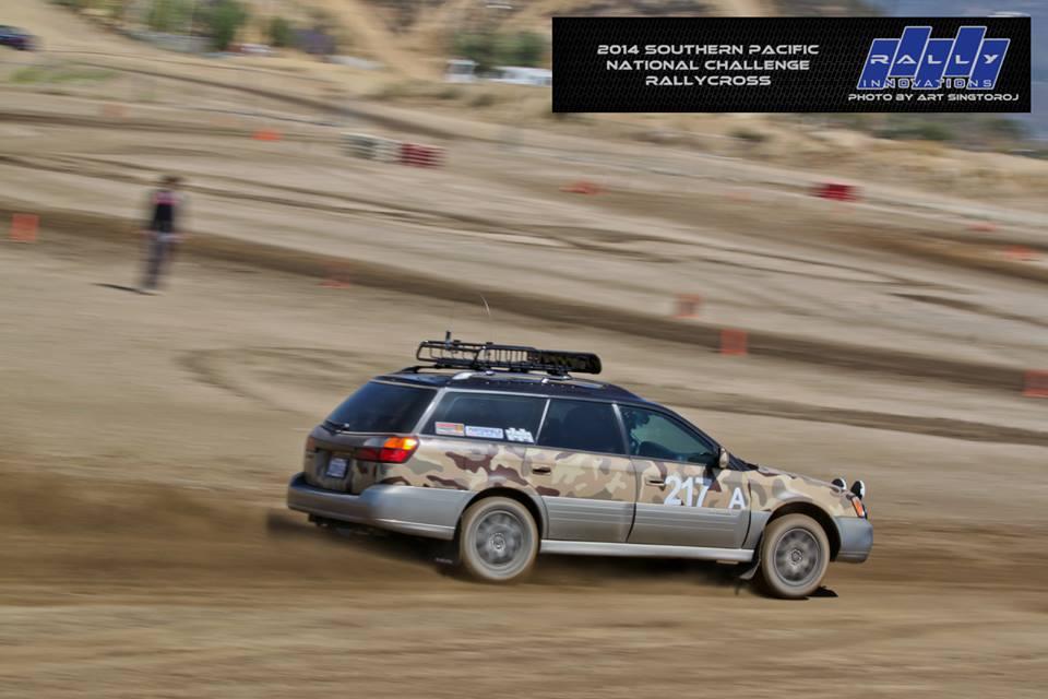 2014 SoPac National Challenge RallyCross, Photo by Art Singtoroj
